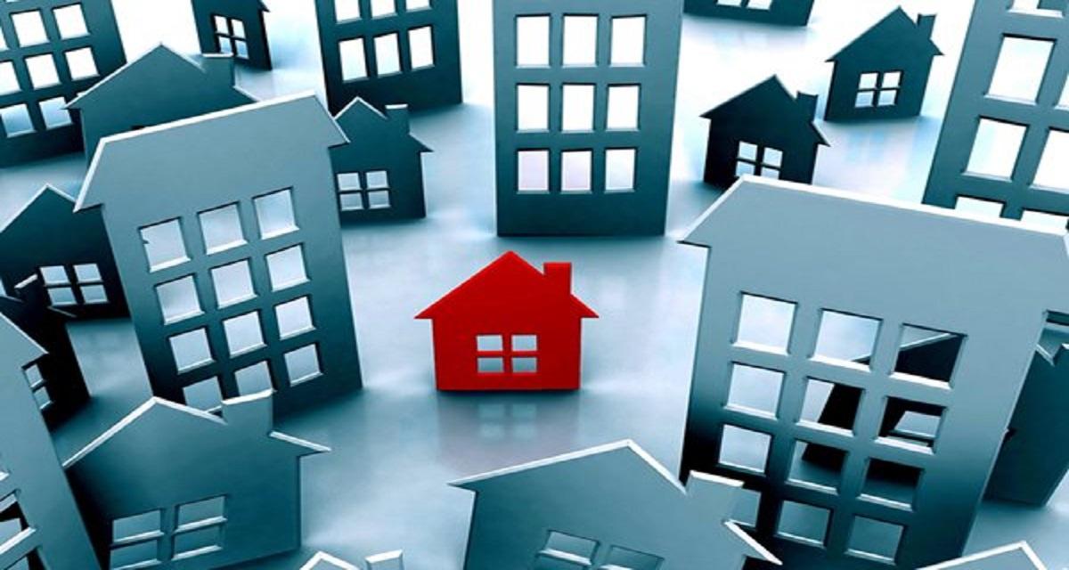 Foto interna mercado imobiliario