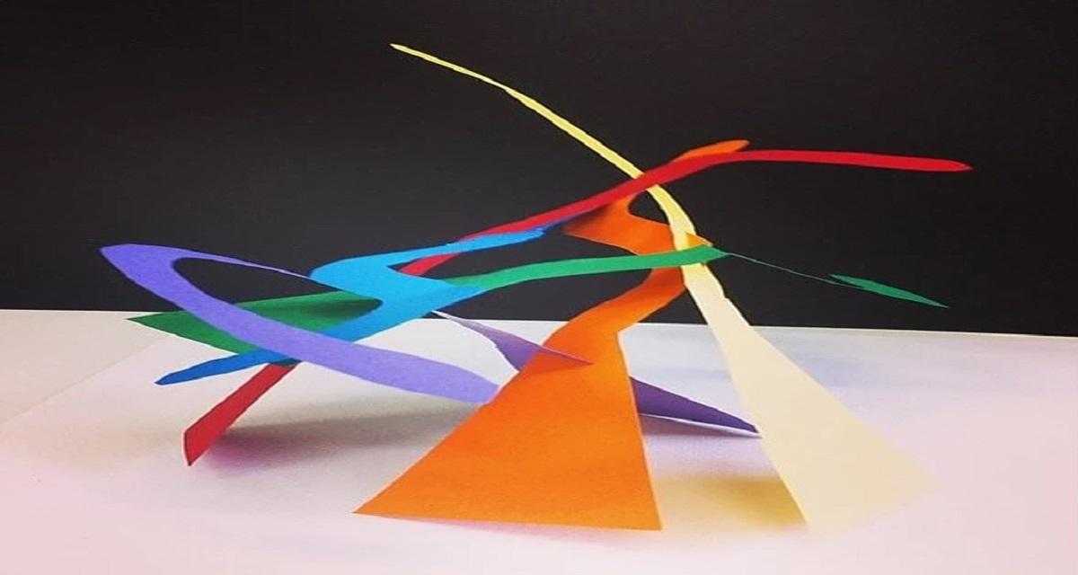Escultura com folha de papel Bogoricin Prime CAPA