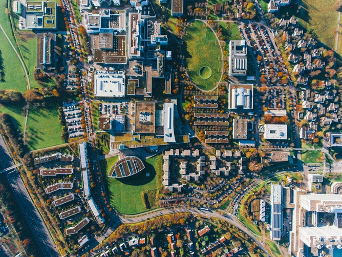 Novo Campus da Microsoft Interna Bogoricin Prime