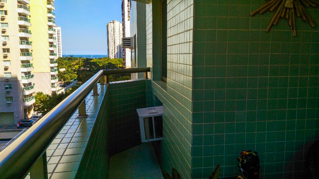 Barra da Tijuca Rua Mario Covas 2 quartos suite varanda vaga garagem mar praia infra estrutura piscina BRT Metro Bogoricin Prime (23)