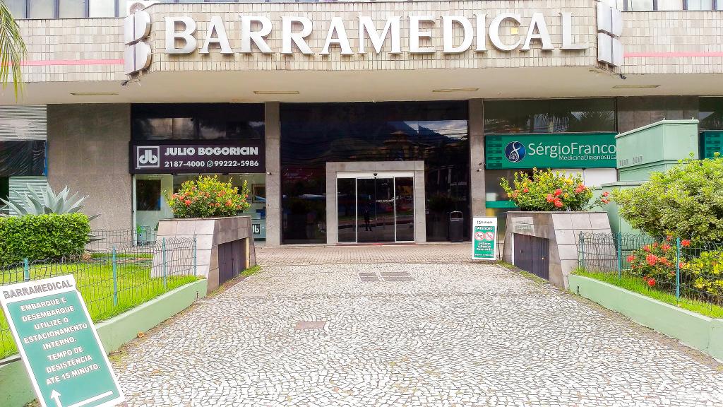 Barra da Tijuca Av das Americas Barra Medical Cobertura Sala Comercial terraço amplos espaços vaga garagem Metrô Bogoricin Prime (21)
